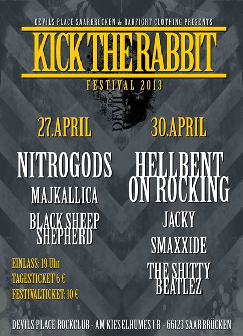 Kick the rabbit festival